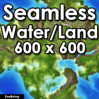 Water 033 - World Map
