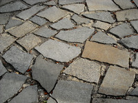 detail photography of pavement texture