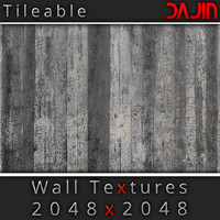Concrete Wall Tileable Nr 2 2048x2048