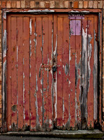 Old Wooden Door 01