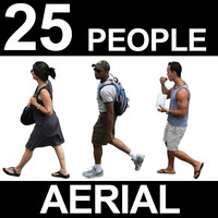 Aerial People Textures - Volume 3