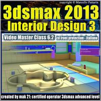3dsmax 2013 Interior Design v.6.2 Italiano cd front