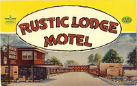 Rustic Inn Postcard