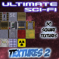 Ultimate Sci-fi Textures Pack 2