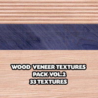 Wood Veneer Textures Pack Vol.2