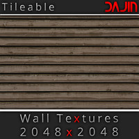 Wood Wall Tileable 2048x2048