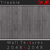Wood Wall Tileable Nr 4 2048x2048