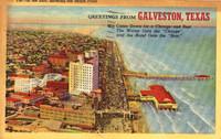 Galvestan Postcard