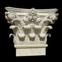 3d pilasters corinthian model