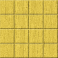 Dirty Yellow Floor Tiles