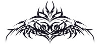 randy orton back tattoo