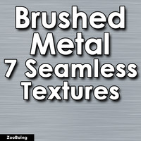 Set 022 - 7 Brushed Metal Textures