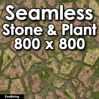 Stone 056 - Grass & Rock