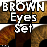 Set 033 - Brown Eyes