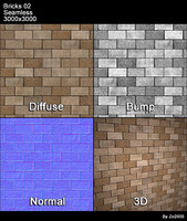 Bricks Seamless Texture 02