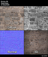 Bricks Seamless Texture 06