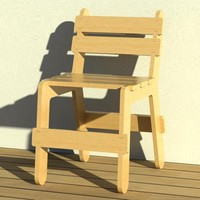chair fixed 3d rfa