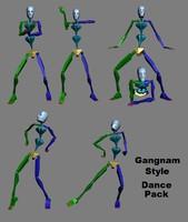 Dance Gangnam Style Dance Pack