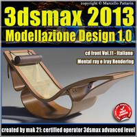 3dsmax 2013 Modellazione Design v.11 Italiano cd front
