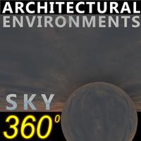 Sky 360 Clouded 001
