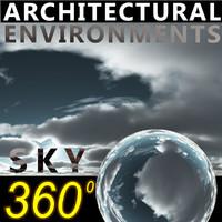 Sky 360 Clouded 009