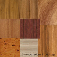 35 wood textures in package