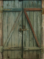 Old Shed Wooden Door