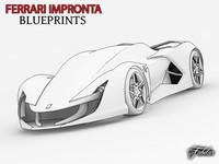 Ferrari Impronta blueprints