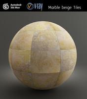 Marble beige Tiles