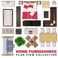 Home Furnishings Plan View Collection