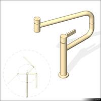 Faucet Kitchen 01483se