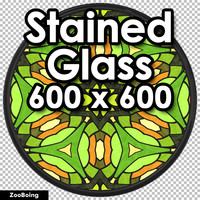Glass 004 - Stained Glass
