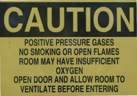 High Quality Caution Sign