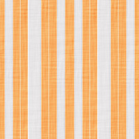 Coordinated Cottons - White on Apricot  Stripes