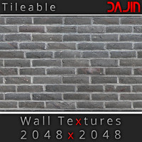 Brick Wall Tileable Nr 3 2048x2048