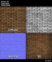 Bricks Seamless Texture 04