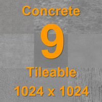 Concrete Grey - 9 Textures