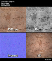 Concrete Old Seamless Texture 01