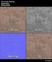 Concrete Old Seamless Texture 04