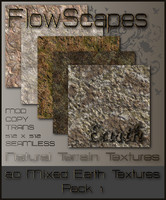 FlowScapes Earth Collection Terrain textures