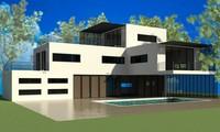 3d model house exterior
