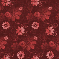 Fun with Florals - Red Floral 4
