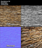 Sandstone Seamless Texture 04