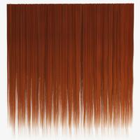 Ginger straight hair texture