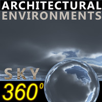 Sky 360 Clouded 012