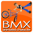 BMX RIDER animation