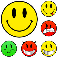 Classic smileys set source file