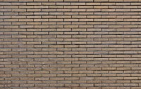 Clinker brick wall