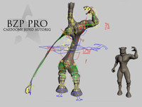 BZP PRO CARTOONY BIPED AUTORIG