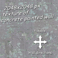 concrete - painted wall